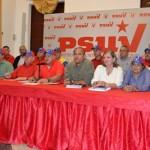 Rueda de Prensa de la Dirección Nacional del PSUV desde el estado Bolívar