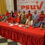 Rueda de Prensa de la Dirección Nacional del PSUV, desde el estado Bolívar