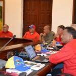 Dirección Nacional del PSUV reunida en el estado Bolívar