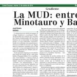 artículo dE JRR_La MUD entre el minotauro y babel