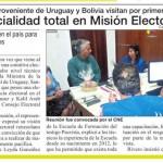 mision electoral de unasur